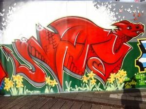 welsh dragon unity