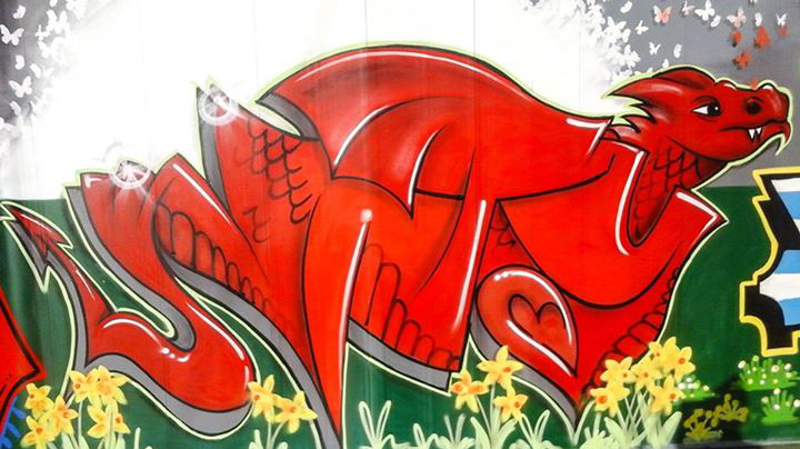 welsh dragon unity