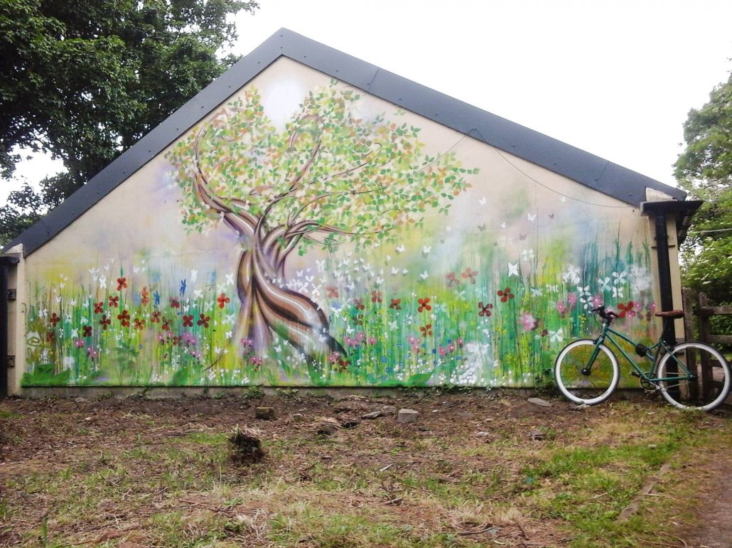 Walls millimagic for Community mural
